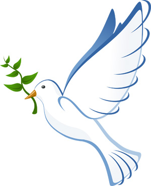 international day of peace dove